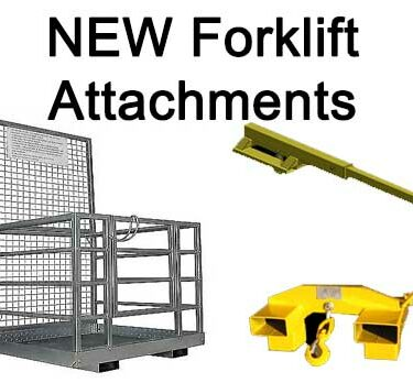 New Forklift Attachments