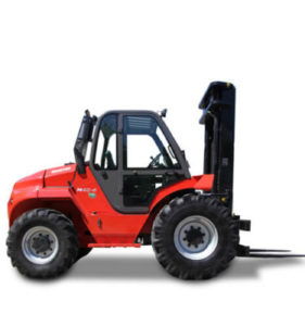 2WD 4WD Rough Terrain Forklift Side